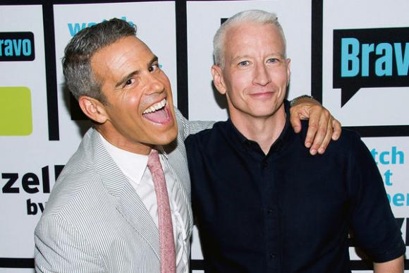 Anderson Cooper & Andy Cohen at Dolby Theatre