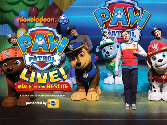 PAW Patrol Live at Dolby Theatre