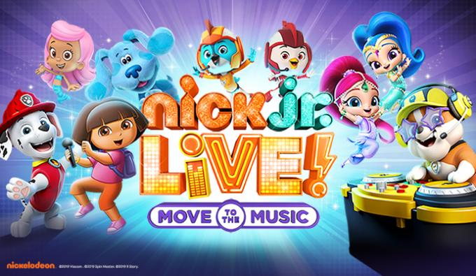 Nick Jr. Live! Move to the Music at Dolby Theatre
