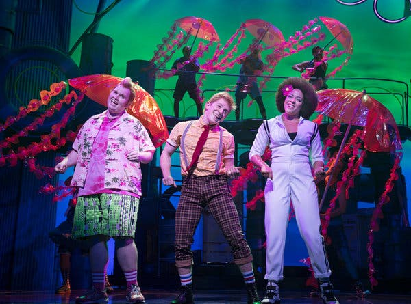 Spongebob - The Musical at Dolby Theatre